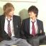 【BL動画】ジャニ系イケメン男子校生ゲイカップルがノリで生掘り種付け合い