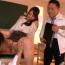 ヤリマン女教師が体育教師と男子生徒を交えて校内3P